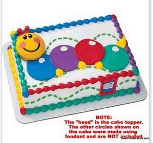 Baby einstein cake decoration topper kit cupcake birthday for Baby einstein decoration