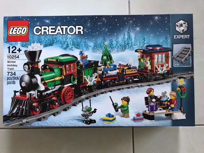 LEGO (10254) Creator Winter Holiday Train NIB  nuovo Sealed - Ship Today   basta comprarlo