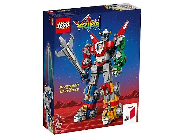 Lego Ideas 21311 Voltron Defender Of The Universe NIB Sealed In Hand SDCC Excl