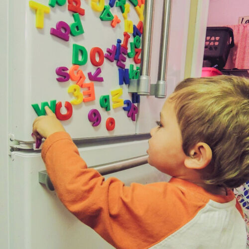 26 Magnetic Letters Children Kids Magnets Learning Best