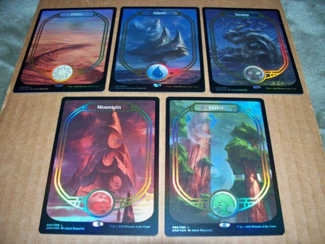 1 Full Art Land Set Unstable MTG Magic Rare 1x