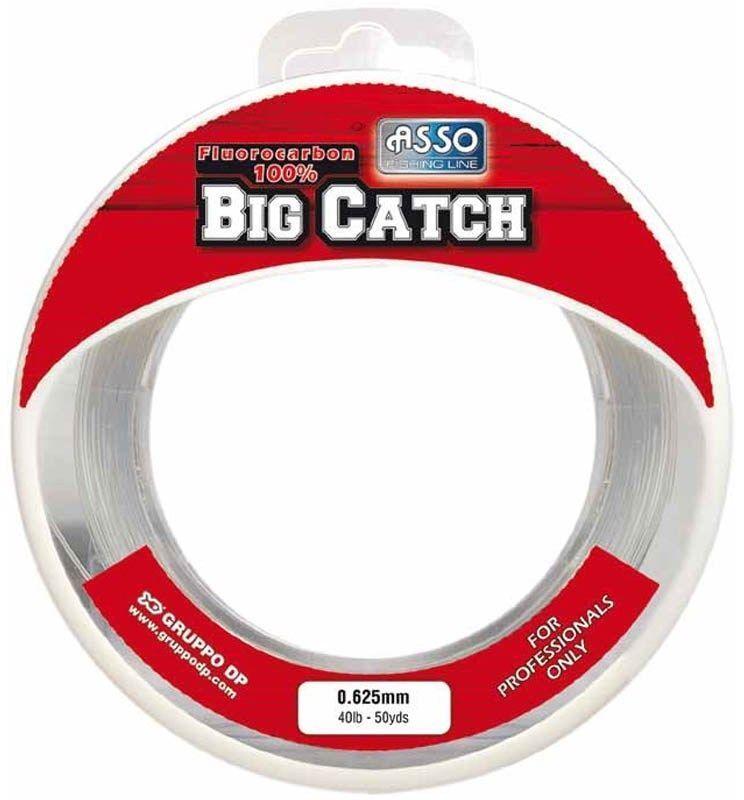 Asso Big Catch 100% Flugoldcarbon Line 50 yards , 30 40 50 60 80 100 LB