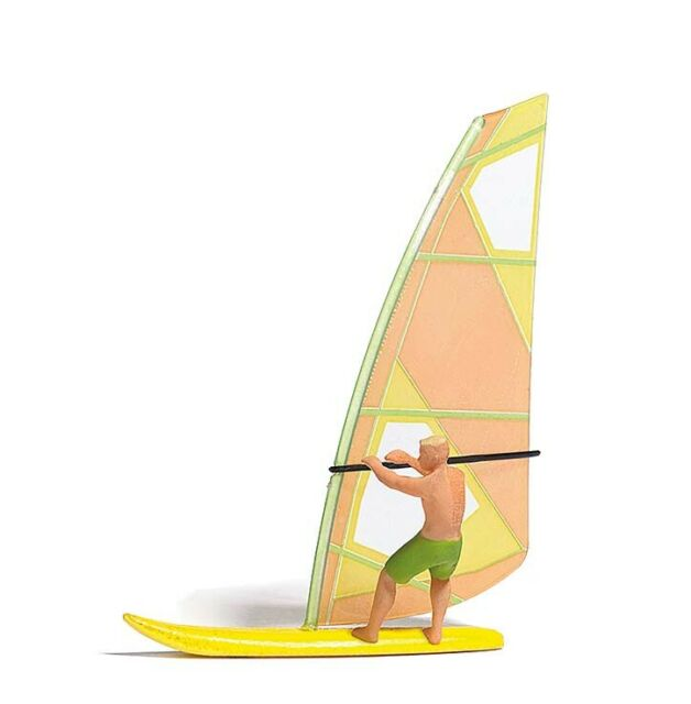 Busch 5486 Lake With Surfer, Kit, H0