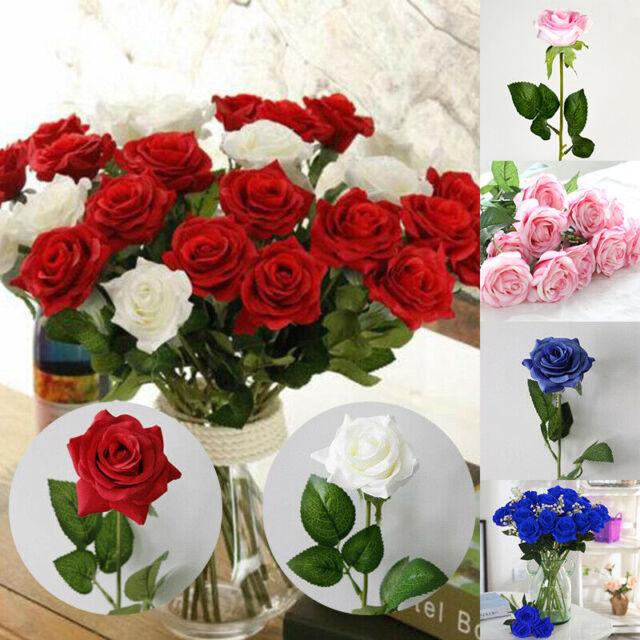 Babys Breath Navy Blue 36 Stems Vase Fillers Bouquet Silk Artificial Flowers For Sale Ebay