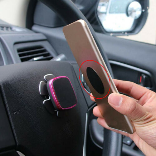 8x Metal Plate Stickers Replace For Magnetic Cars Mount Magnet Cell Phone.Holder