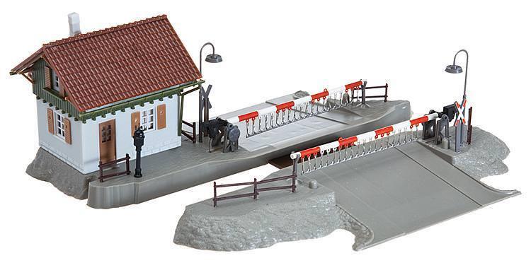 Faller 120174 h0 passage à  niveau avec barrières wärterhaus Kit article neuf  vente au rabais