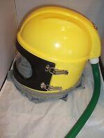 Sandblasting Respirator Safety Helmet With Cape Hose Air Supplied Design