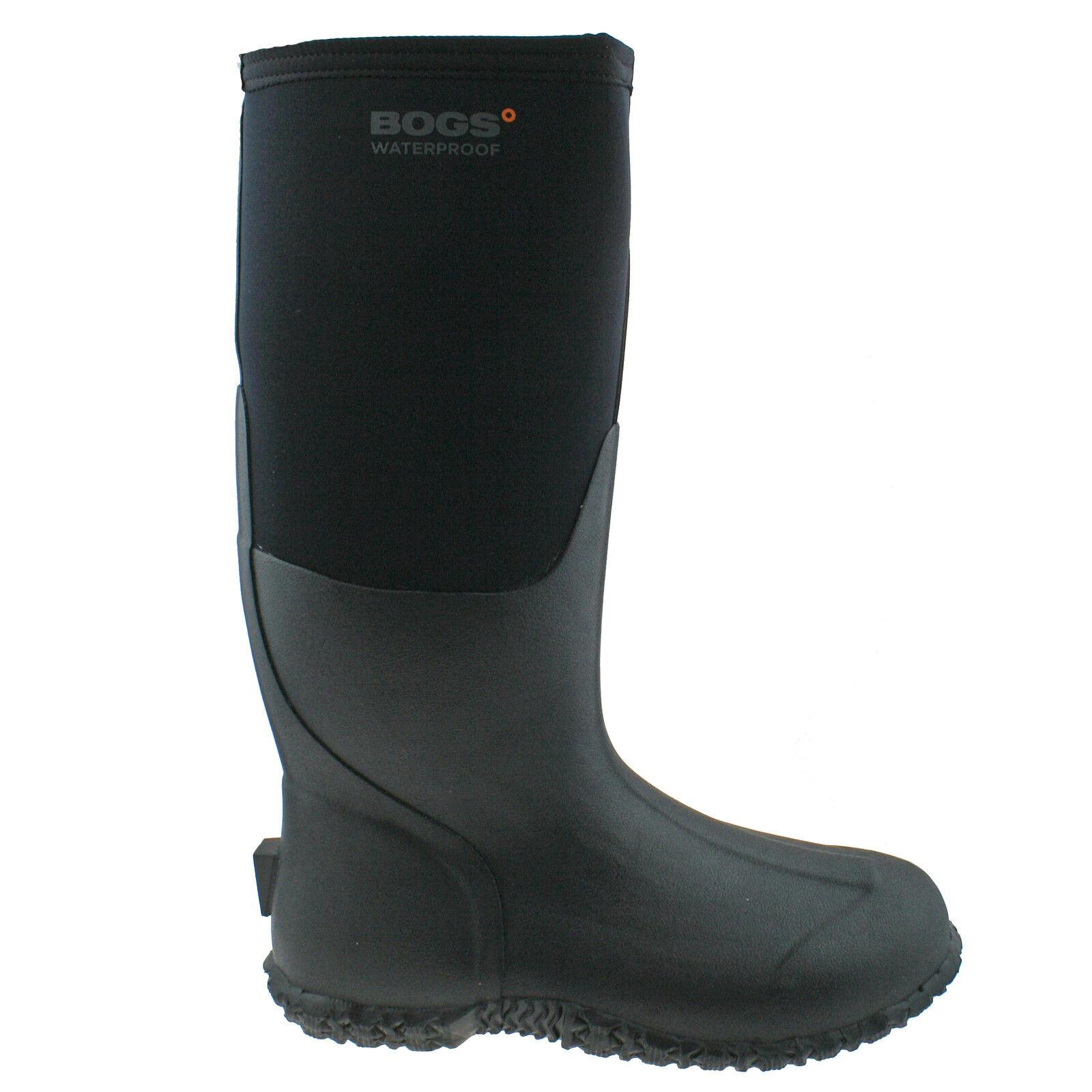 Femmes Bogs Carver Chaud Tall noir isolé Chaud Carver Imperméable Bottes Boot 78449 447bb8
