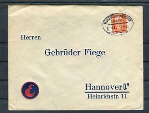 Bahnpostbeleg-DR-12-Pfg-EF-Muenchen-Hannover-b5230