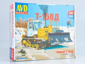 TGC-2 diesel locomotive Unassembled Kit AVD Models by SSM 1:43