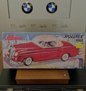 Original-Schuco-Rollfix-1085-rojo-nuevo-roadster-Rollfix-1085-red-new