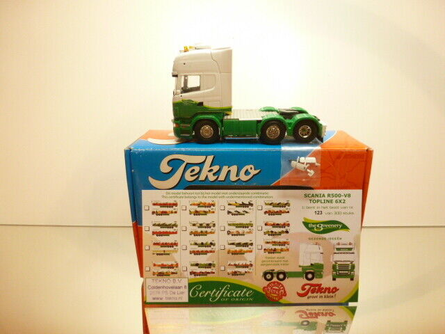 TEKNO HOLLAND SCANIA R500-V8 GrünERY - DIJCO 1 50 - EXCELLENT IN BOX