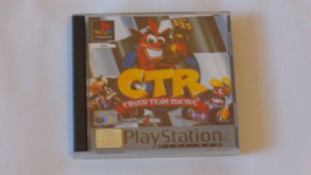 Crash Team Racing ps1 spiel Sony PlayStation 1, 1999 neuwertig