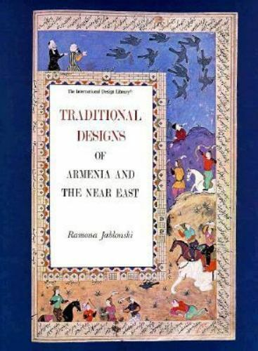 Traditional Designs of Armenia and the Near East to Color, Paperback by Jablo...