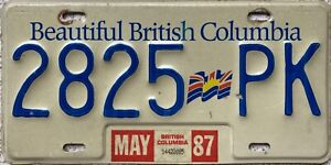 Canada-British-Columbia-Flag-Graphic-License-Canadian-Licence-Plate-2825-PK