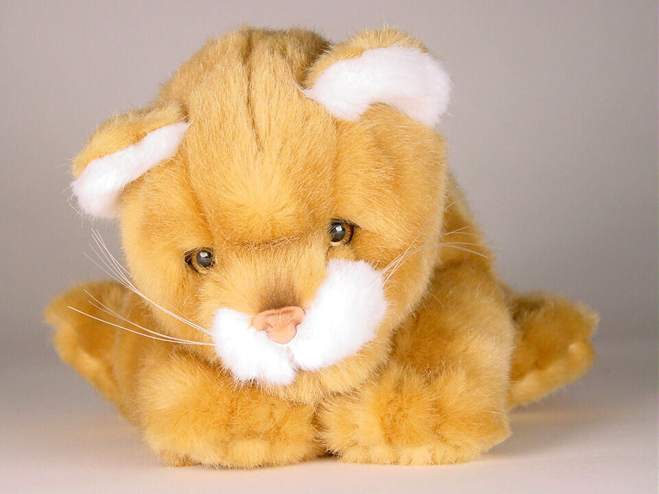 Lion Cub by Piutre, Hand Made in , Plush Stuffed Animal NWT