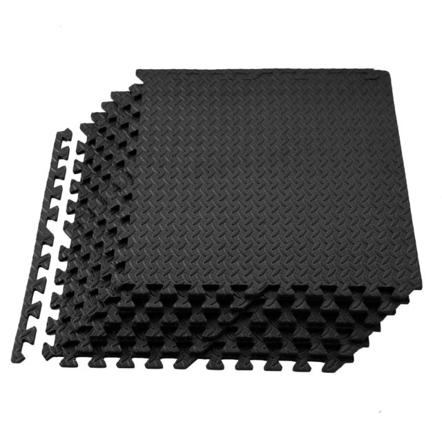 72sq ft Interlocking Eva Foam Floor Mat Puzzle Soft Tiles Gym Exercise Mats Yoga