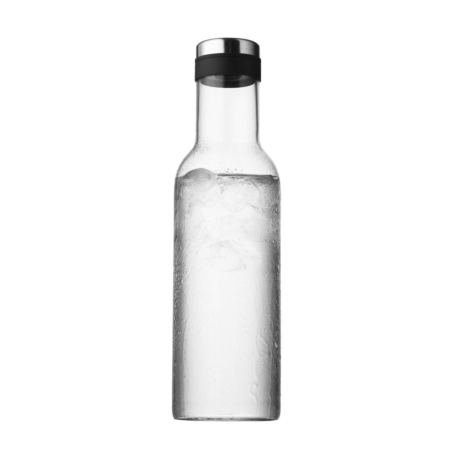 Menu New Norm Wasserflasche klar ø 8 cm, h 28 cm | Ich kann es nicht ablegen