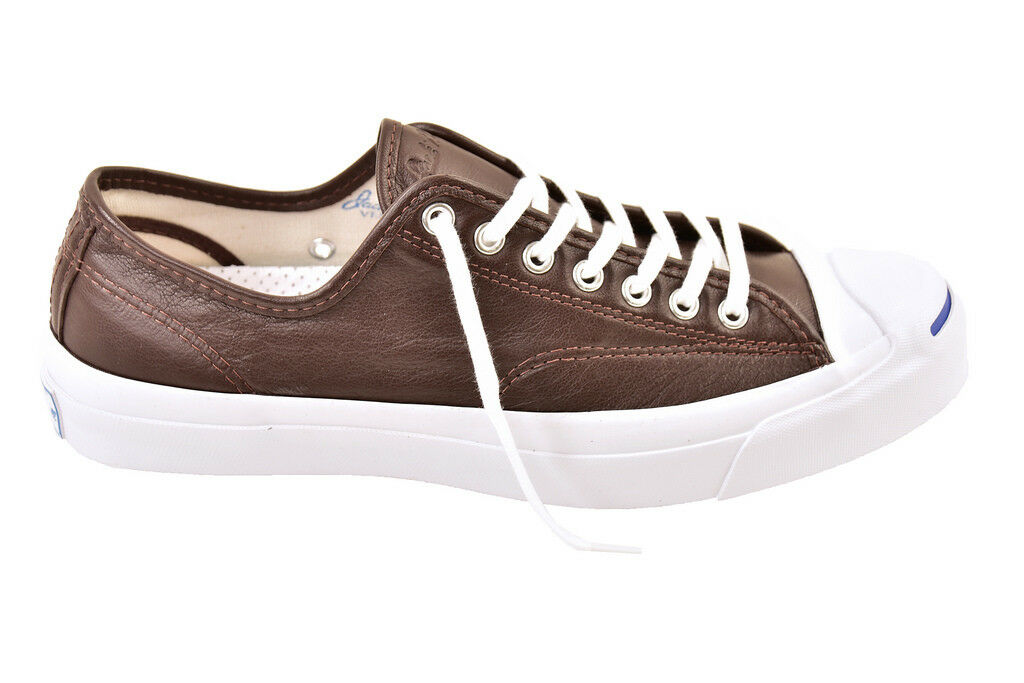 Converse unisexe en cuir Jack Purcell Chaussures Burnt Umber taille UK 9