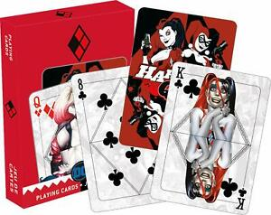 DC-Comics-Harley-Quinn-Mirror-set-of-52-playing-cards-jokers-nm-52626368