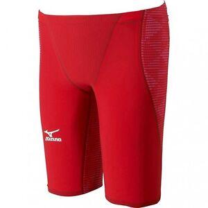 MIZUNO Swimsuit Men GX-SONIC III ST FINA N2MB6001 Red Size S Small F//S w//Track#