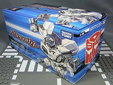 100%  TAKARA A-01U TRANSFORMERS ALTERNITY NISSAN GT-R ULTRA MAGNUS WHITE NEW