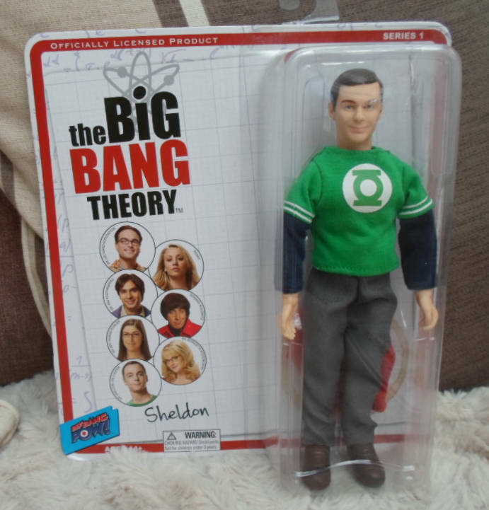 Cifra giocattolo Co Sheldon Lanterna verde gree Bang Theory  8  MEGO Stile  promozioni