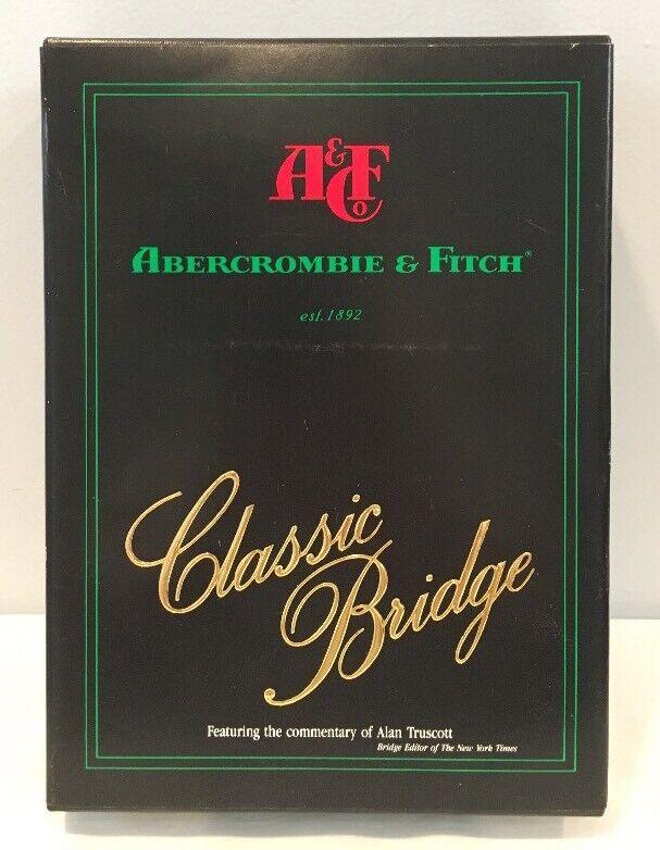 アンティックマークによる珍しいビンテージアバクロ&フィッチクラシックブリッジゲームボリューム1。