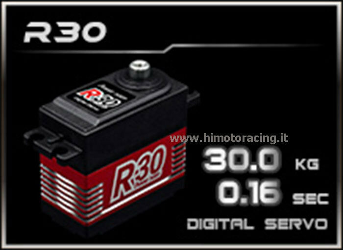 R30 Servo Digitale 30Kg Power R30 High Voltage con ingranaggi in titanio