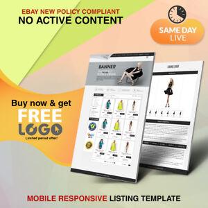 Unique Ebay Store Shop Design Listing Auction Html 2019 Templates Get Free Logo Ebay