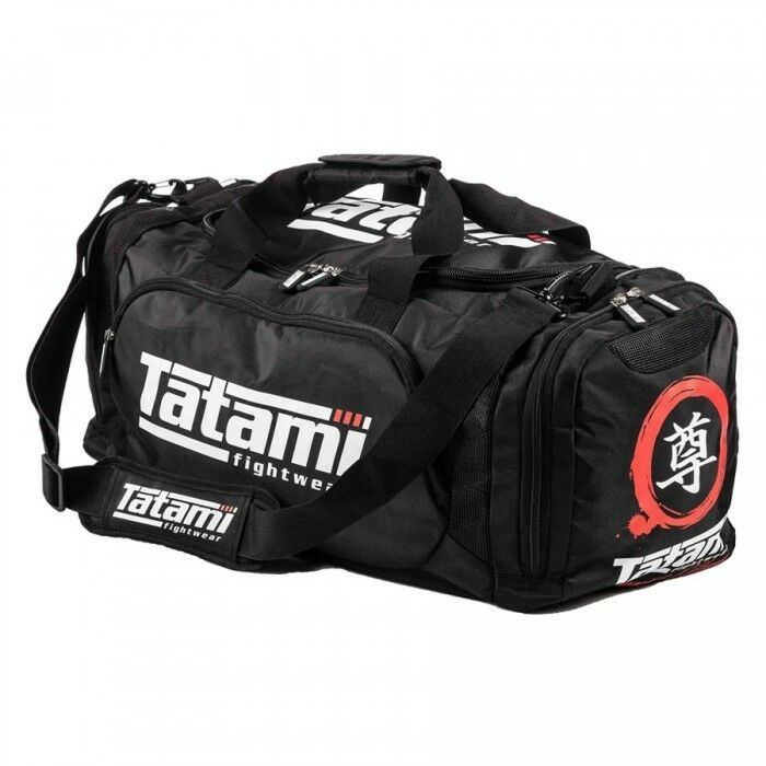 Tatami BJJ Gym Bag Meiyo Large MMA Holdall Brazilian Jiujitsu Gear Bag Kit Bag
