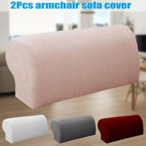 Superb Details About 1Pair Arm Chair Protector Sofa Couch Armchair Covers Stretch Armrest Cover Andrewgaddart Wooden Chair Designs For Living Room Andrewgaddartcom