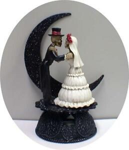 Image Is Loading Day Of The Dead Wedding Cake Topper
