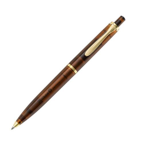 Smoky Quartz Demonstrator Gold Trim NEW Pelikan Classic K200 Ballpoint Pen
