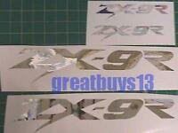 Zx9r Zx-9 Kawasaki Chrome 16pc Decal Kit Stickers Graphics Choose Your Color
