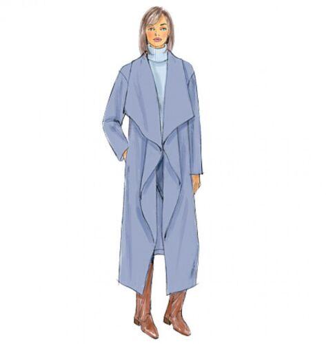 Butterick Ladies Easy Sewing Pattern 6250 Jacket Butterick-... Coat /& Wrap