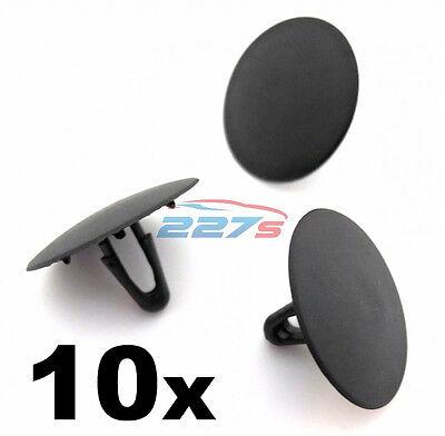 20x Clips For Toyota Bonnet Insulation Clips Black Plastic RAV4 Celica Supra