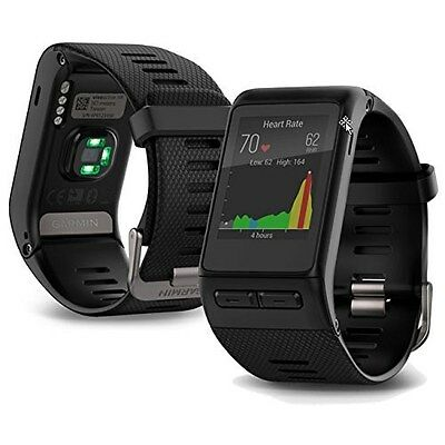 Garmin VivoActive HR GPS-Enabled Active Fitness HRM Smartwatch Watch - Regular