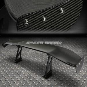 "NRG CARBON FIBER GT STYLE 69"" JDM RACING REAR/BACK TRUNK SPOILER/WING+BRACKETS"
