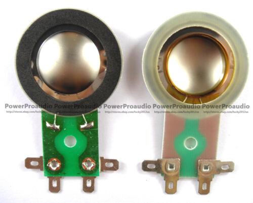 8 ohm  Titanium 2pcs Diaphragm Horn Tweeter for TAPCO 6925 MACKIE THUMP 6912