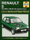 Renault 5 1985-96 Service and Repair Manual by A. K. Legg (Hardback, 1988)