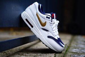 ... Nike-Air-Max-1-QS-Olympic-Or-Blanc-