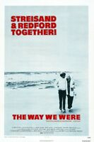 The Way We Were Movie Poster - Barbra Streisand Poster, Robert Redford Poster