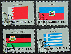 United-Nations-New-York-Stamp-Yvert-and-Tellier-N-504-IN-507-Obl-Cyn13
