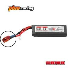 Team Orion 1600mah 50C Soft Case 7.4v 2S LiPo RC Micro Battery ORI60138