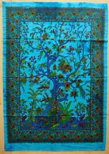 73 x 103 cm Wandbehang Wandbild Bild Tuch Lebensbaum Tree of Life Esoterik