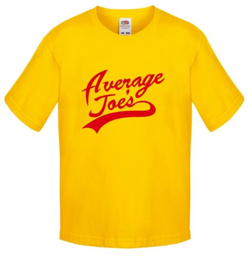 KIDS CHILDRENS T SHIRT Average Joes Funny Design Inspired by Film Dodgeball