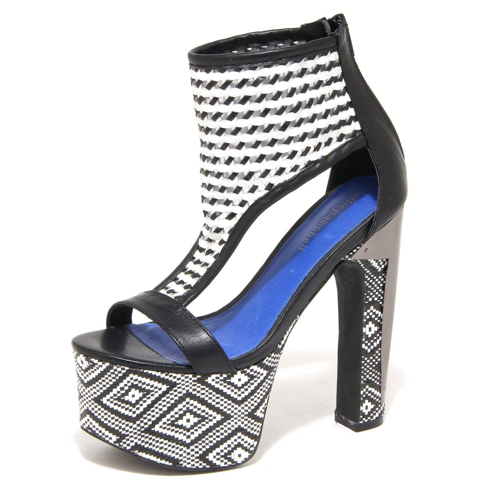 Spedizione gratuita al 100% 8833N sandalo JEFFREY CAMPBELL ZASU nero bianco sandali donna donna donna sandals donna  negozio di moda in vendita