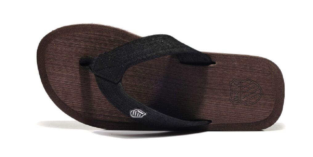Men's Lightweight Beach Pool Thong Sandals Flip Flops Slippers Brown/Beige/Gray