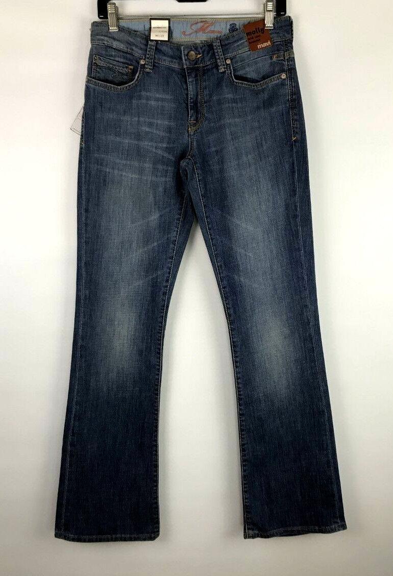 Mavi Molly Regular Rise Classic Boot Cut Stretch Jeans Sz 27   34 FABULOUS  NWT